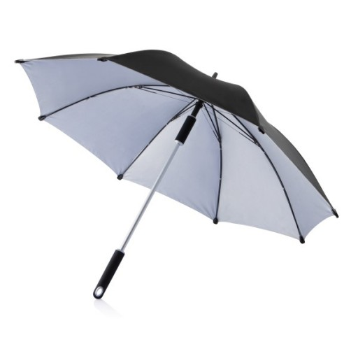 23 Zoll Hurricane Regenschirm, schwarz