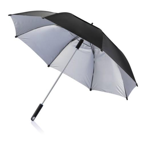 Hurricane Sturm Regenschirm, schwarz