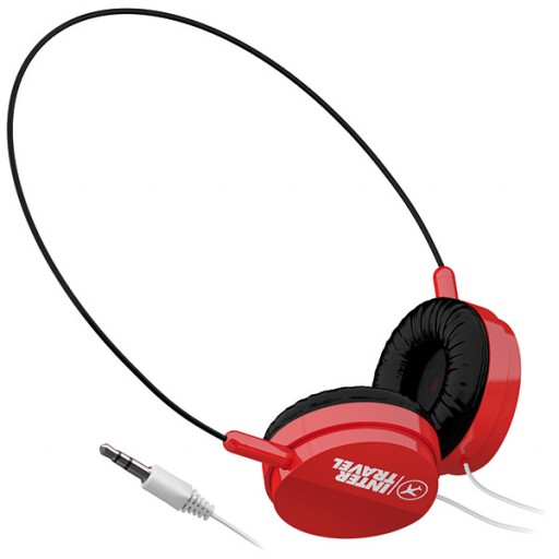 Stereo-Kopfhörer OnEar | Rot