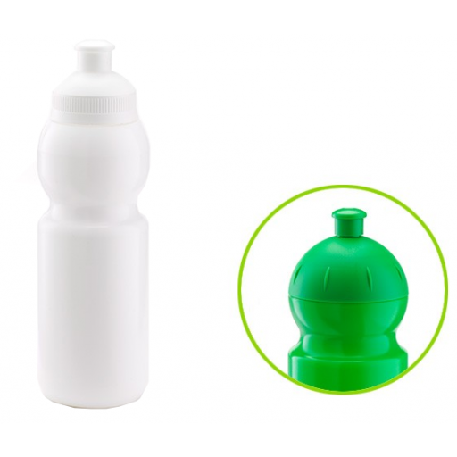 Trinkflasche Bulb | 330 ml | Weiß | Ziehverschluss