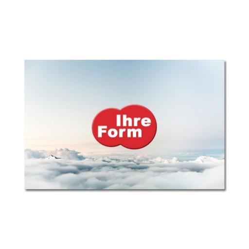 Display-Cleaner Werbeartikel  mit Logo bedrucken lassen : Budget-Cleaner Sonderform | Silikon | Visitenkarte | innerhalb 78 mm²