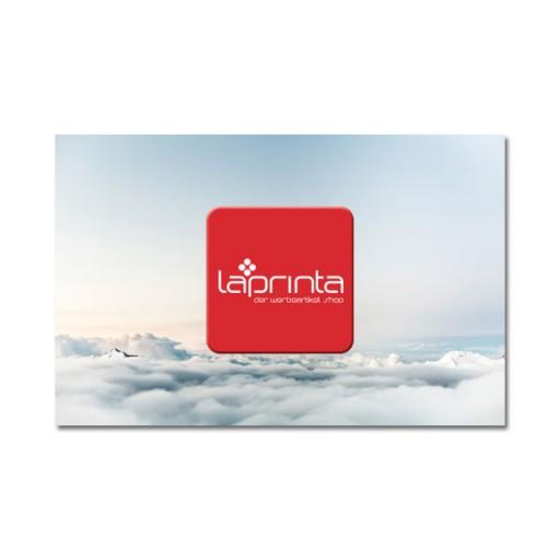 Display-Cleaner Werbeartikel  mit Logo bedrucken lassen : Budget-Cleaner 28x28 mm | Silikon | Visitenkarte