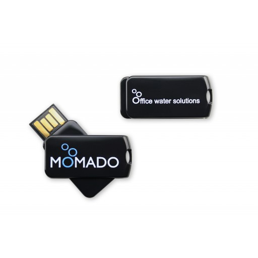 USB-Stick Smart Twist | Schwarz | 2 GB