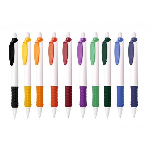 Kugelschreiber Sunny | Schwarz | blau-schreibend günstig bedrucken lassen