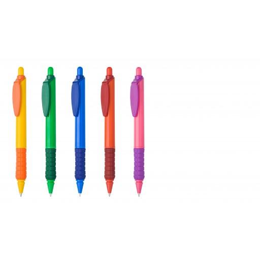 Kugelschreiber Sunny Colour | Schwarz | blau-schreibend günstig bedrucken lassen