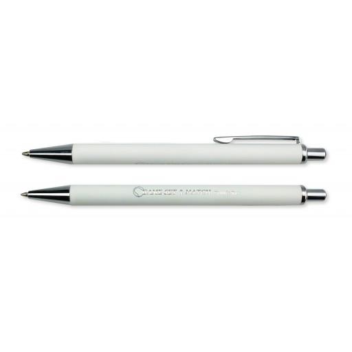 Superior Pen | Digitaldruck | blau-schreibend | Weiß