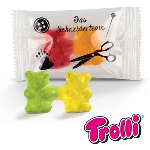 Team Gummibärchen | Transparente Folie | 3-farbig (ab 25000 Stück)
