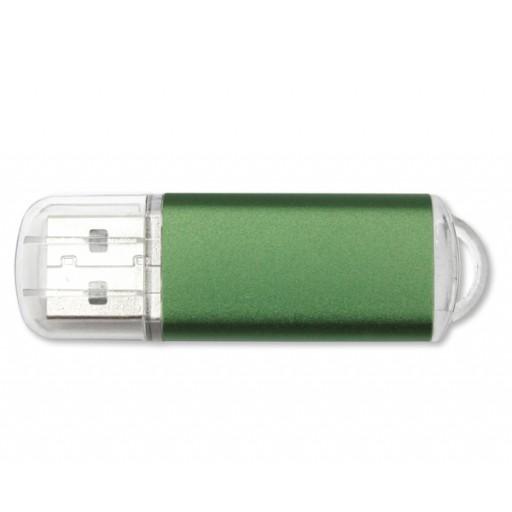 Aluminium-USB-Stick Original | 2 GB | Grün