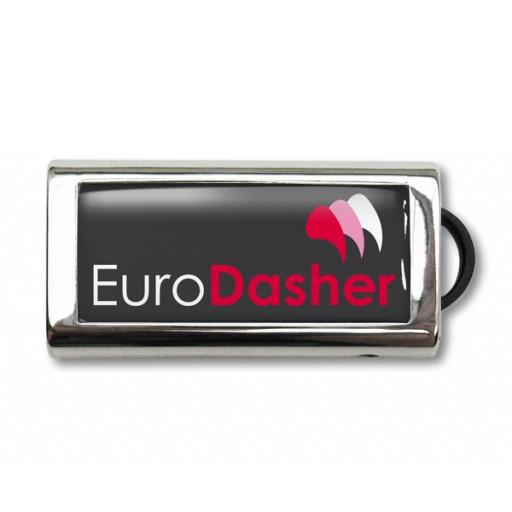 Slide USB-Stick | 2 GB | Silber