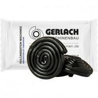 Bio Lakritzschnecke ohne Gelatine (vegan), (1 Stück) ca. 14g, Flowpack