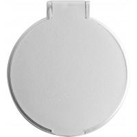 Kosmetikspiegel 'Pocket' aus Kunststoff | Silber