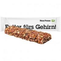 Bio Müsliriegel Multikorn-Himbeere, ca. 30g, Flowpack | weiße Folie