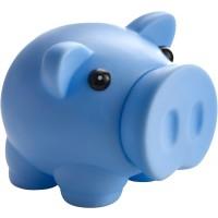 Sparschwein  'Piggy' aus Kunststoff | Hellblau