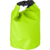 Strandtasche 'River' aus PVC | Limettengrün