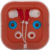 Kopfhörer 'Universal' aus Kunststoff/Metall | Rot