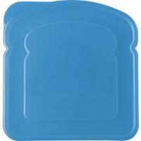 Brotdose 'Classic Line' aus Kunststoff | Hellblau