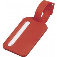 Kofferanhänger 'Travel' aus Kunststoff | Rot