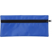 Stifte-Etui 'Jordi' aus Polyester | Kobaltblau