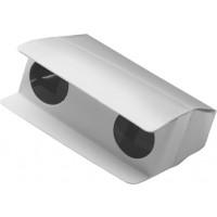 Fernglas 'Pocket' aus Pappe | Weiß