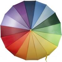 Portierschirm 'Rainbow' aus Nylon