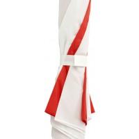 Automatik Stockschirm 'Harley' aus Polyester | Rot/Weiß