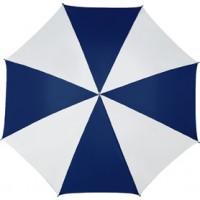 Portierschirm 'Harris' aus Polyester  | Dunkelblau/Weiß