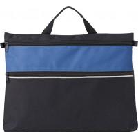 Dokumententasche 'Color-Line' aus Polyester | Kobaltblau