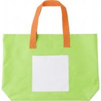 Strandtasche 'Costa del Sol' aus Polyester | Limettengrün