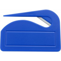 Brieföffner 'Pocket' aus Kunststoff | Kobaltblau