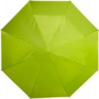 Taschenschirm 'Multicolor' aus Polyester | Limettengrün
