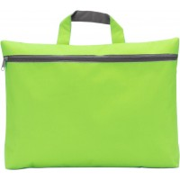 Dokumententasche 'Nassau' aus Polyester | Limettengrün