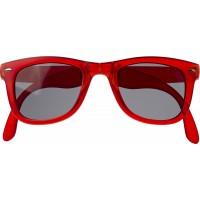 Sonnenbrille 'Glamour' aus Kunststoff               | Rot
