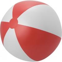 Aufblasbarer Wasserball 'XXL' aus PVC | Rot/Weiß