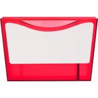 Stifteköcher 'Big Box' aus Kunststoff | Rot