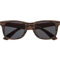 Sonnenbrille 'Aviator' aus Kunststoff | Dunkelbraun