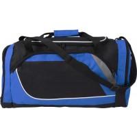 Sporttasche 'Stripes' aus Polyester | Kobaltblau