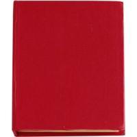 Haftnotizen 'Hurrikan' aus Karton | Rot