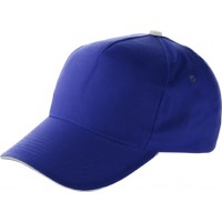 Baseball-Cap aus Baumwolle | Kobaltblau
