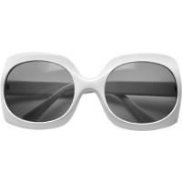 Sonnenbrille  'Fashion' aus Kunststoff | Weiß