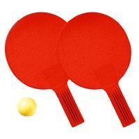 """Tischtennis-Set """"Massiv""""   Rot"""