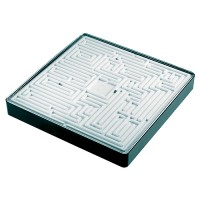 "Giant Puzzle ""Labyrinth"" | Schwarz / Weiß"