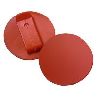 "Button ""Colour-Clip"" | Rot"