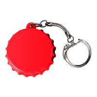 "Schlüsselanhänger ""Kronkorken"" | Rot"