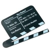 "Magnet ""Filmklappe"" | Schwarz"