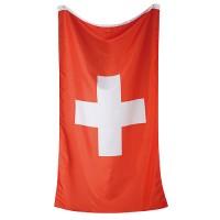 "Flagge ""Nations - Schweiz""    rot/weiß"