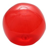 "Wasserball ""Midi"" transparent | Transparent-Rot"