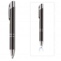 2-in-1 Stift CLIC CLAC MONS BLACK als Werbemittel in Schwarz