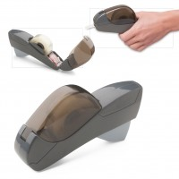 Automatischer Klebebandspender REFLECTS VALGA als Werbemittel in Anthrazit