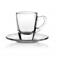Porzellan-Tasse Kenia Espresso Glastasse 7,5 cl
