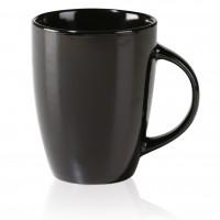 Porzellan-Tasse Lima, schwarz 29 cl